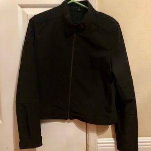 Theory bomber jacket black size L